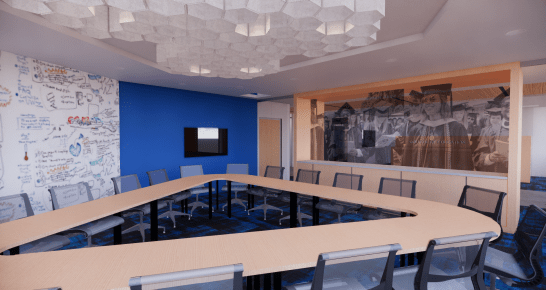Seacobeck Hall conference room