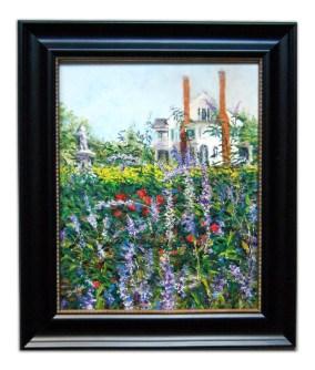 Jill Brabant, Belmont Through The Garden (Fourth Place)