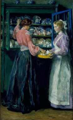Gari Melchers, The China Closet, 1904-05 Oil on canvas