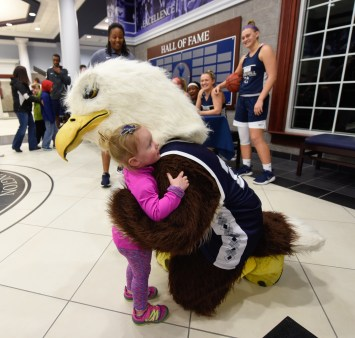 Eagle Madness ushers in new basketball season. Photos by Clem Britt.