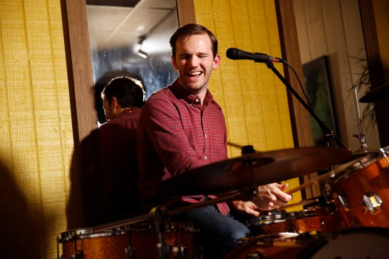 Mike Pingley plays drums in the folk-rock band Wylder, which began at UMW. The group is gearing up for Rock the Boat, a musical cruise that sets sail in January.