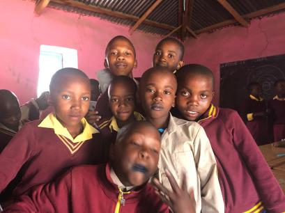 As a Peace Corps volunteer, Maggio is making a difference with the members of a youth club in Lesotho, South Africa. The country claims the world's second highest prevalence of HIV.