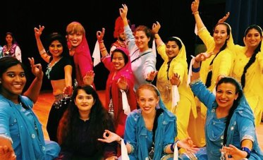 JFMC supports 22 UMW student organizations, including Eagle Bhangra, seen here. Others include the African Student Union, PRISM, Women of Color, DiversAbility and the Latino Student Association. Photo courtesy of Rahima Morshed.