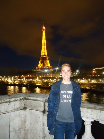A lifelong Francophile, Lamm was thrilled to visit Paris and other French locales while studying politics, culture and language for a semester at the University of Grenoble. Photo courtesy of Stephen Lamm.