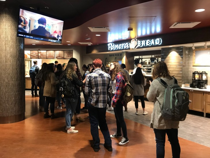 The UMW community and local residents can now enjoy Panera Bread at Mary Washington, thanks to the popular eatery's new University Center location.