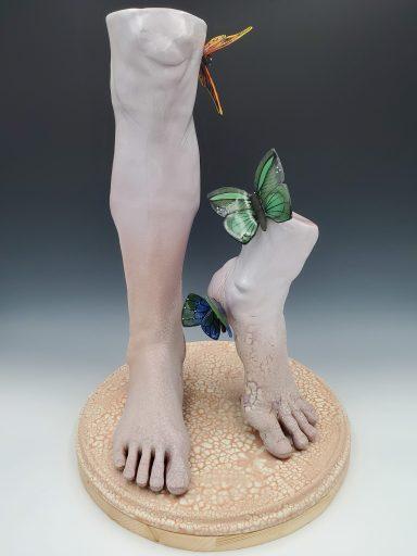 """Tread Lightly"" by Debra Balestreri '03."