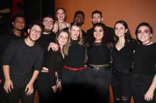 It took One Note Stand just a single day to record an a cappella version of the Francis and the Lights electronic pop hit, 'See Her Out,' which the group had performed at its fall 2019 concert at UMW.