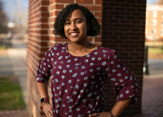 2019 alumna Kelsey Chavers received the inaugural Defining A Legacy Award, in honor of Dr. James L. Farmer Jr.