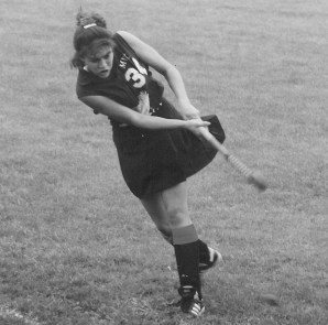 Candice Malone Long '94 played field hockey for each of the four years she was at Mary Washington. The experience and the guidance of Coach Dana Hall, Long said, helped shape the leadership skills she employs in her role at Janssen.
