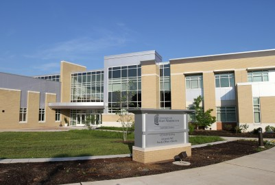 Stafford campus, North Building of the University of Mary Washington.