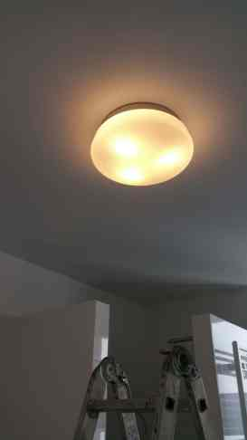 Lampen Aufhängen