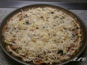 Thunfischpizza
