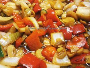 Wokgemüse - scharf