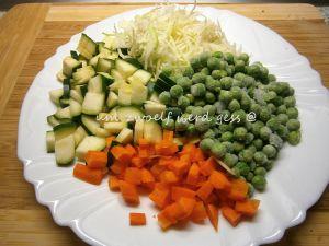 Gemüsespätzle