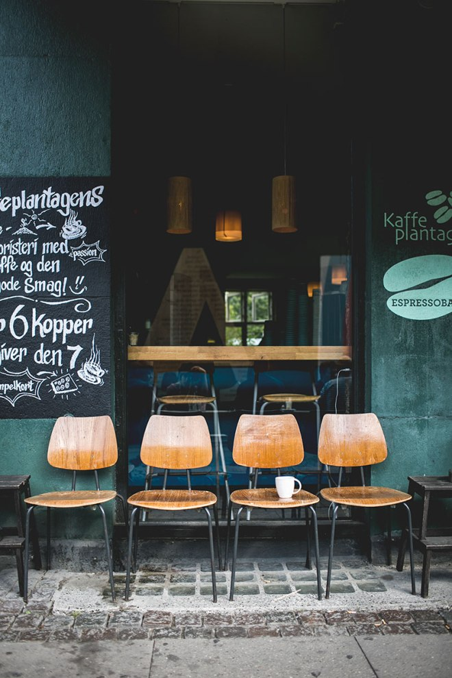 Copenhagen coffee bar