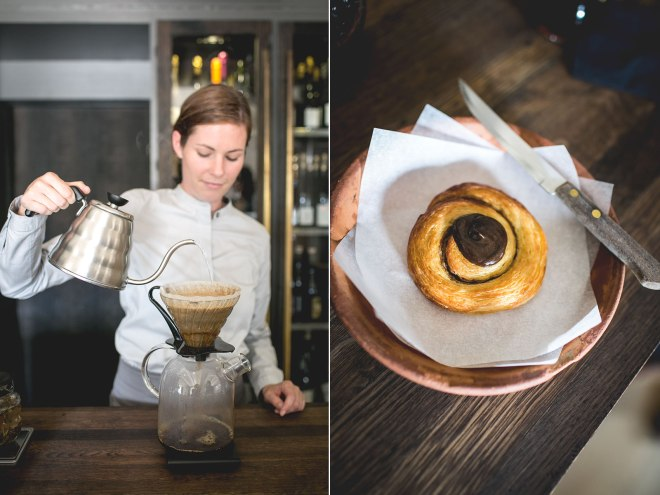 Coffee and Danish snegl at Noma, Copenhagen | un-fold-ed.com