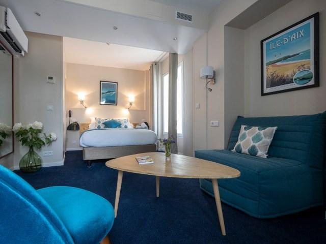 vue d'ensemble de la chambre privilège - Un hôtel sur le Port