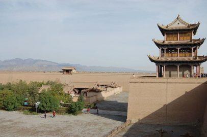 Itinéraire de voyage en Chine sur la route de la Soie