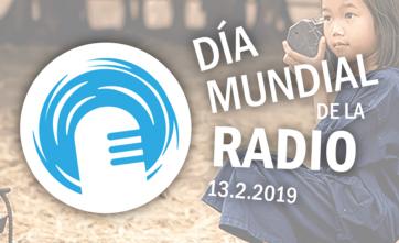 Logo Día Mundial de la Radio