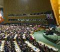 Sala de la Asamblea General Foto de archivo: ONU/Mark Garten