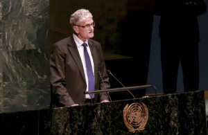 The General Assembly elected Mogens Lykketoft as Presidents of its 70th session