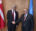 Mogens Lykketoft met with FM of Algeria