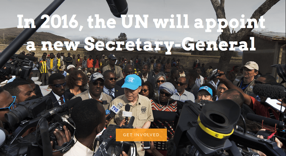 NGLS process for civil society to ask questions for UNSG candidates