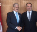 Mogens Lykketoft met with the President of Slovakia