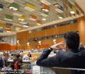 La Asamblea General continúa los diálogos informales con los candidatos a Secretario General de la ONU. Foto: ONU/Rick Bajornas