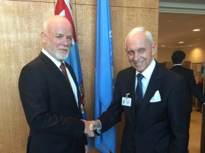 The President of the UN General Assembly met with Director General of the International Organization for Migration, Mr. William Lacy Swing