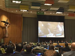 Remarks at GA meeting on question of Palestine