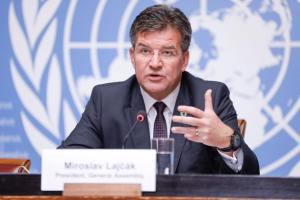 Press Conference in Geneva