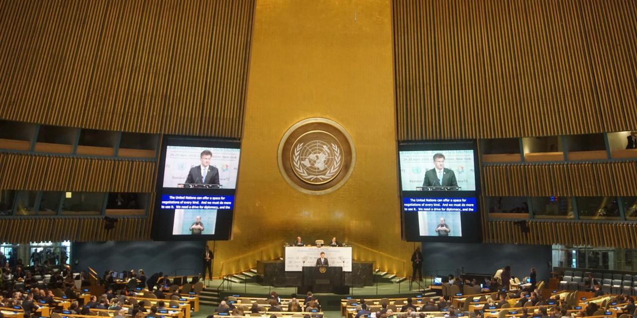 La prévention des conflits au centre d'une réunion de haut niveau au Siège de l'ONU