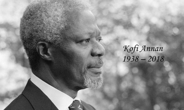 Statement on the passing of former Secretary-General Kofi Annan