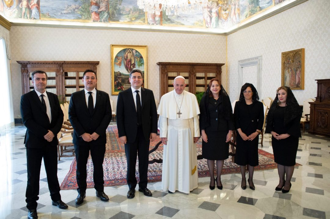 Audience with Pope Francis