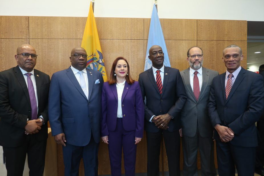 READOUT: meeting with CARICOM High Level delegation