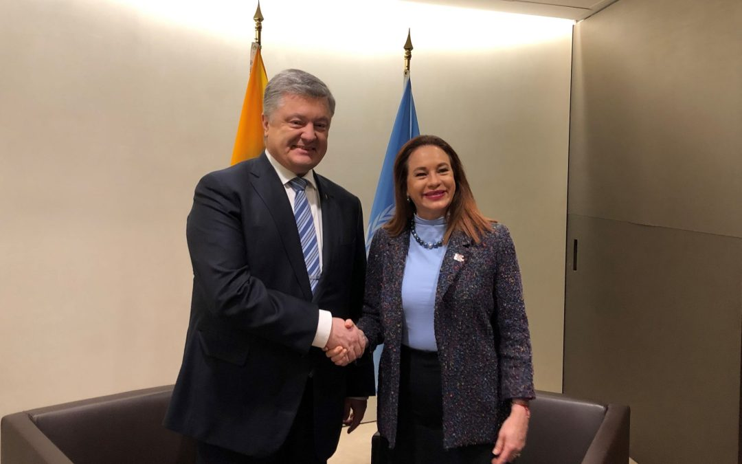 READOUT: meeting with the President of Ukraine