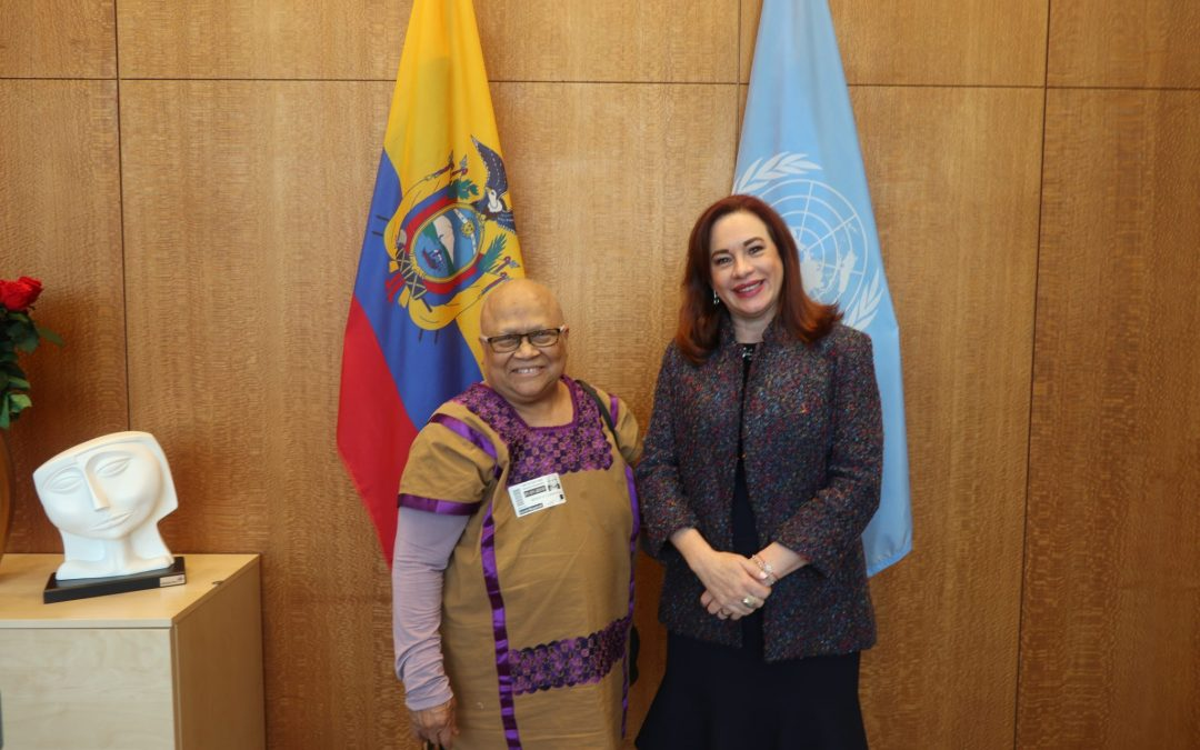 READOUT: meeting with President of Development of Indigenous Peoples of Latin America and the Caribbean Fund