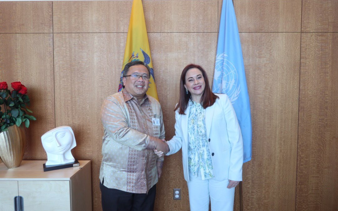 READOUT: meeting with the Minister of National Development Planning of Indonesia