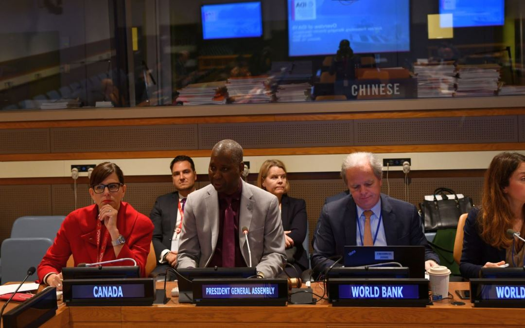 INTERNATIONAL DEVELOPMENT ASSOCIATION'S 19TH REPLENISHMENT TEN YEARS TO 2030: GROWTH, PEOPLE AND RESILIENCE INFORMAL BRIEFING TO UN MEMBER STATES