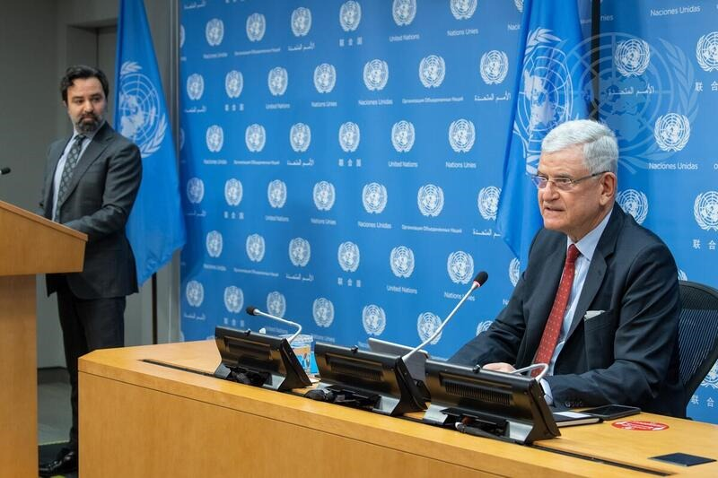 SECOND PRESS CONFERENCE BY PRESIDENT OF THE GENERAL ASSEMBLY