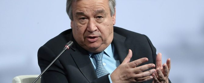 أنطونيو غوتيريش، الأمين العام للأمم المتحدة