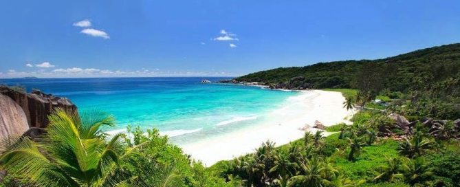 جزيرة ديج، سيشيل. تصوير منظمة السياحة العالمية