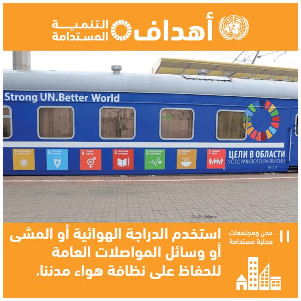الهدف 11: جعل المدن والمستوطنات البشرية شاملة للجميع وآمنة وقادرة على الصمود ومستدامة