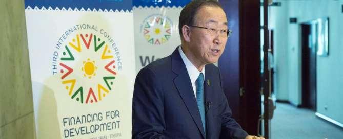 Ban Ki-moon, da la bienvenida a acuerdo de Irán