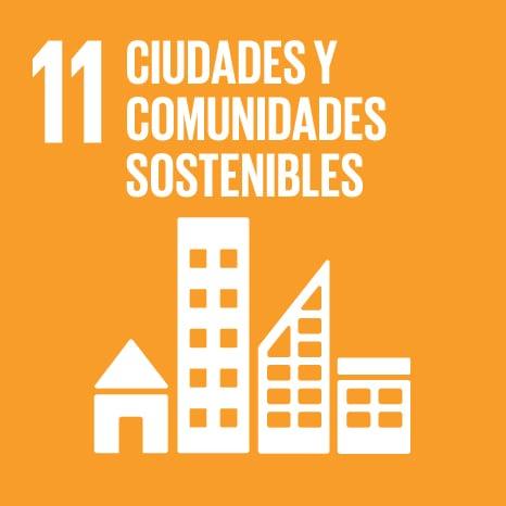 Objetivo 11 - CIUDADES Y COMUNIDADES SOSTENIBLES