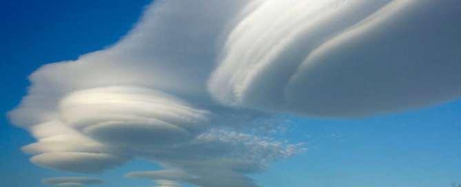 Formación de nubes Altocumulus. Foto: OMM