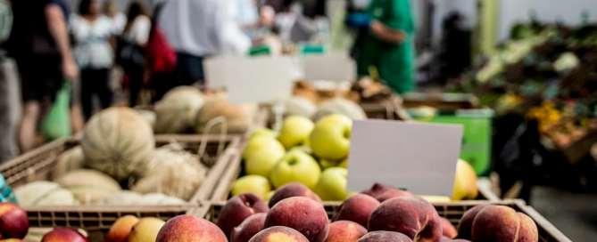 Los productos rurales pueden aumentar la nutrición urbana. Foto: FAO
