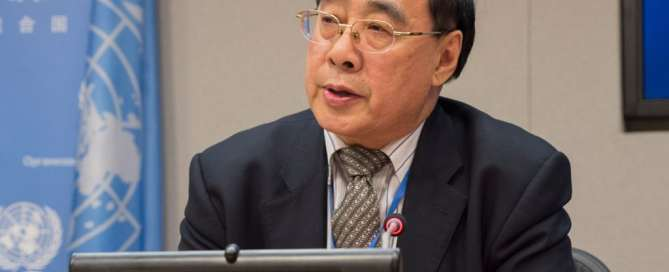 El secretario general adjunto de la ONU para Asuntos Económicos y Sociales, Wu Hongbo. Foto: ONU/Eskinder Debebe