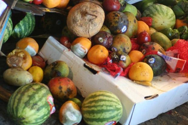 Desperdicio y pérdida de alimentos. Foto: FAO/Jonathan Bloom